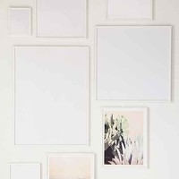 White Wood Art Print Frame