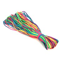 Best Deal RainBow Color 550 Paracord 7 strand Parachute Cord For Camping Hiking Outdoor Sports Durable And Lightweight Paracord