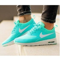 NIKE Trending Fashion Casual Sports Shoes Mint Green-2