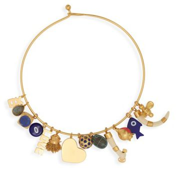 Tory Burch Logo Charm Necklace | Nordstrom
