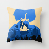 Bioshock Infinite Elizabeth Throw Pillow by Bill Pyle