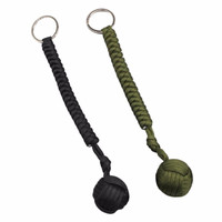Monkey Fist Self Defense Tool Multifunctional Key Chain