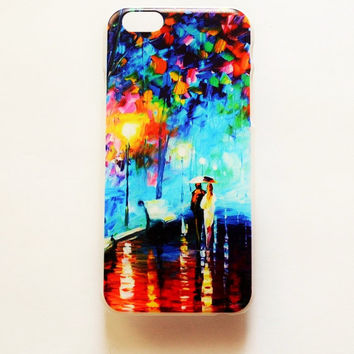 iPhone 6 Case Cover Oil Painting iPhone 6 Hard case Romantic Back Cover For iPhone Vintage Floral Slim Lightweight iPhone Case