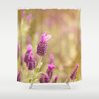 Top Hat Shower Curtain by Dena Brender Photography
