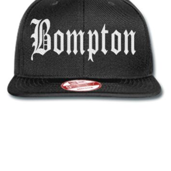 bompton  Bucket Hat - New Era Flat Bill Snapback Cap