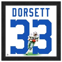 Dallas Cowboys Tony Dorsett Framed Jersey Photo (Cow Team)