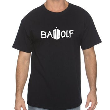 "Dr. Who ""Bad Wolf"" Unisex T-Shirt (XXL-5XL)"