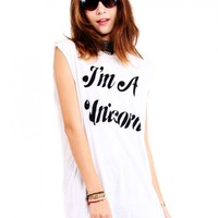 Im A Unicorn' Top by Youreyeslie.com Online store> Shop the collection