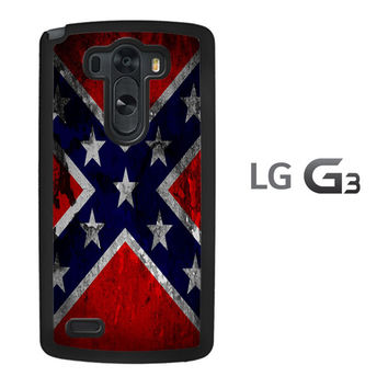 Confederate Flag A0161 LG G3 Case