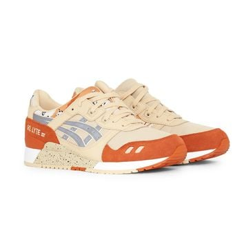 Asics Gel-Lyte III Trainer Tan & Orange