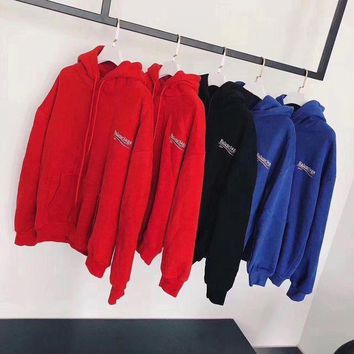 ONETOW balenciaga fashion logo hooded sport top sweater sweatshirt hoodie 10