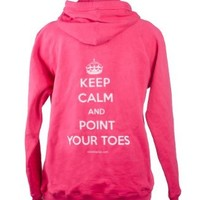 Covet Dance Clothing - Keep Calm and Point Your Toes Hoodie:Amazon:Clothing
