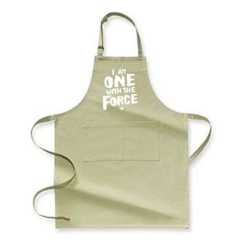 I Am One With The Force, Star Wars Apron
