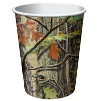 Hunting Camo 9 oz. Cups (8)