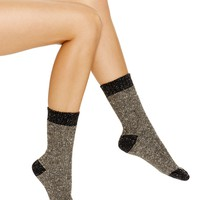 HUETweed Twist Boot Socks