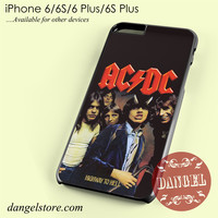 Ac Dc Crews Phone case for iPhone 6/6s/6 Plus/6S plus