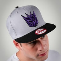New Era Decepticon Snap Back Flatbill Hat
