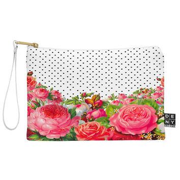 Allyson Johnson Bold Floral And Dots Pouch