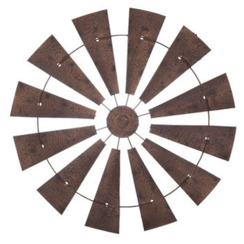 Textured Windmill Metal Wall Decor | Hobby Lobby | 1455369