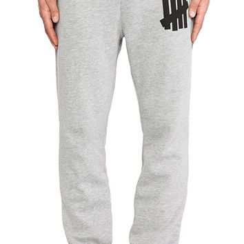 Undefeated 5 Strike Basic Sweatpant in Gray