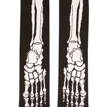 Skeleton Foot Socks - New Clothing  - New In
