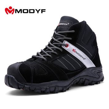 MENS WINTER STEEL-TOE PUNCTURE PROOF WORK BOOTS