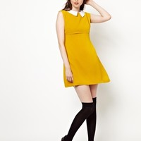 Pop Boutique Coco Sleeveless Dress with Collar