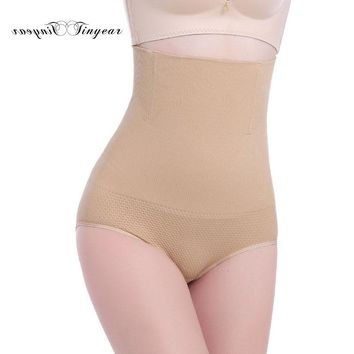 Tinyear Seamless Women High Waist Slimming Briefs Tummy Control Knickers Pants Pantie Shapewear Underwear Magic Body Shaper