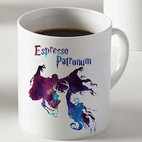 Harry Potter Espresso Patronum Dementor Magic Spell Mug Two Sides