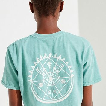UO Compass Cropped Tee   Urban Outfitters