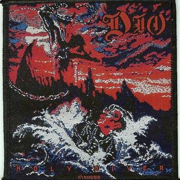 Dio Sew On Patch Holy Diver Logo