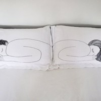 piiqshop - Market Place - boy/girl pillow case set