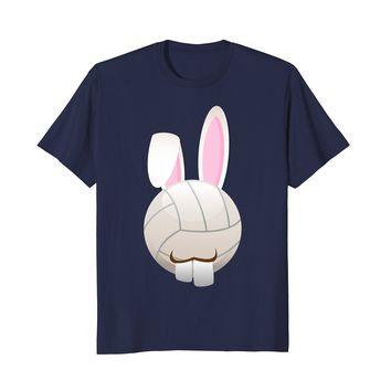 Funny Volleyball Player Bunny Easter Decorations 2018 Shirt
