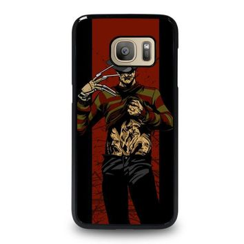 freddy krueger 1 samsung galaxy s7 case cover  number 1