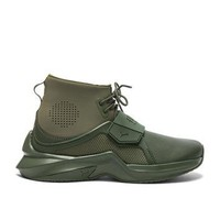 Fenty by Puma Leather Trainer Sneakers in Cypress | FWRD