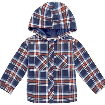JoJo Maman Bebe Hooded Shirt (Toddler/Kid)