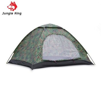 3-4 Person Single Layer Camouflage Dome Tent
