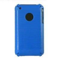 CASETRONICS Blue Stripe Hard Shell Case for Apple iPhone 3G / 3GS