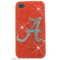 Alabama Crimson Tide Bling NCAA iPhone 4 4S Case Snap On Cover Faceplate
