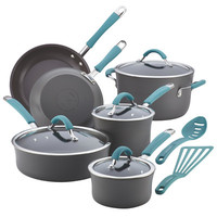 Rachael Ray Cucina Hard Anodized Nonstick 12 Piece Cookware Set