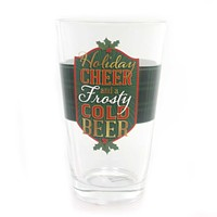 Tabletop Holiday Cheer Pint Glasses Barware