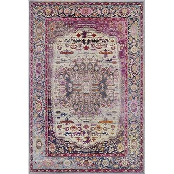 Pierre Cardin Home Cosmos Collection Oriental Traditional/Vintage Area Rugs