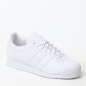 Adidas White Samoa Sneakers - Womens Shoes - White