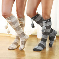 Women's Knit Slipper Socks | LTD Commodities