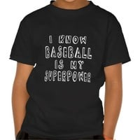 I Know Baseball Is My Superpower