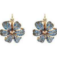 Gucci - Gucci Flora earrings with sapphires