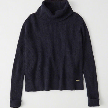 Womens Mohair Turtleneck Sweater | Womens New Arrivals | Abercrombie.com