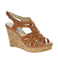 Bertie Gracie Wedge Sandals at asos.com