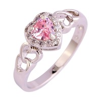 Valentine's Day Pink Love Ring