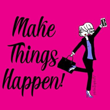 Make things happen - Princess Leia  -   Wall Art